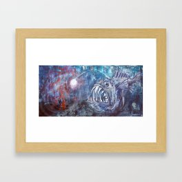 Searching Framed Art Print