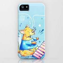 Keyboard Cat Says Thank You iPhone Case
