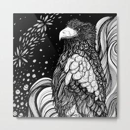 Steller's sea eagle (Haliaeetus pelagicus) Metal Print
