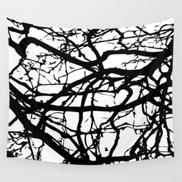 black branches Wall Tapestry