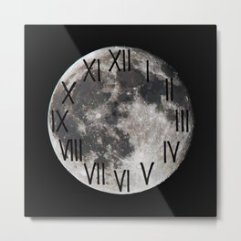 Live by the Moon Metal Print