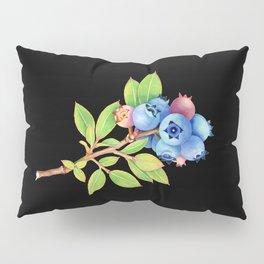 Wild Maine Blueberries Pillow Sham