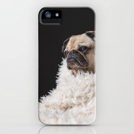 Cute pug iPhone Case