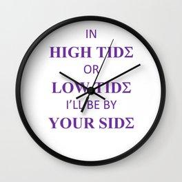 Sigma Tides Wall Clock