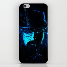 Mr. White (Crystal Blue) iPhone & iPod Skin