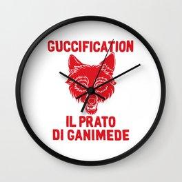 Guccification IL Prato Wall Clock