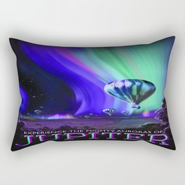 Vintage poster - Jupiter Rectangular Pillow