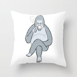 Coffee break... Throw Pillow