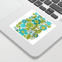 Botanical Doodles Sticker