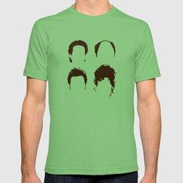 Seinfeld Hair Square T-shirt