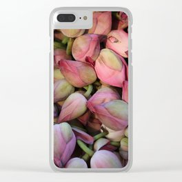 Lotos Flower Clear iPhone Case