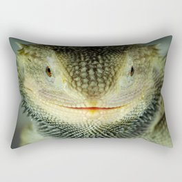 Shadowy Zero Beared Dragon Rectangular Pillow
