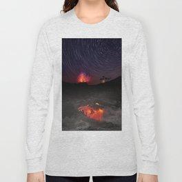 Kilauea Volcano Eruption .4 Long Sleeve T-shirt