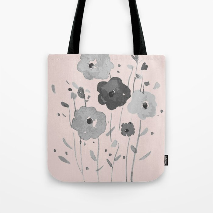 Whimsical spring bloom Tote Bag
