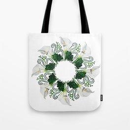 Spring Calla Lilies Tote Bag
