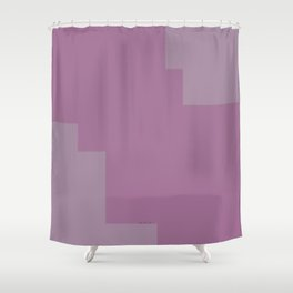 Pastel Pink Design Shower Curtain