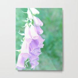 Foxglove Belle Metal Print