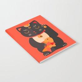 Beckoning Cat Notebook