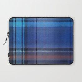 Plaid Blues Laptop Sleeve