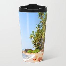 Cute Palma Beach Travel Mug
