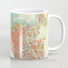Ronda city map classic Coffee Mug