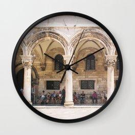 Dubrovnik II Wall Clock