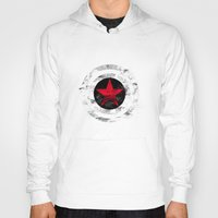 Hoodies featuring Winter Soldier by GreenLine