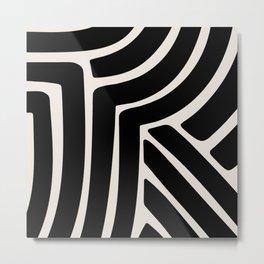 Abstract Stripes VII Metal Print