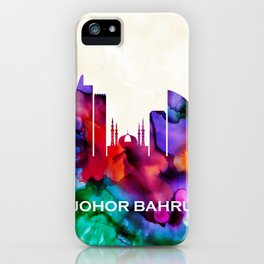 Johor Bahru Skyline iPhone Case