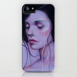 When I Close My Eyes iPhone Case