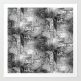 Cemented Art Print
