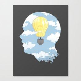 Bright Idea Canvas Print