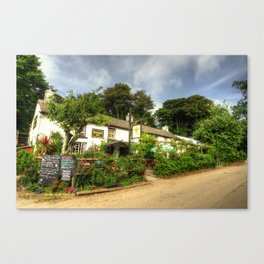 The Roseland Inn  Canvas Print