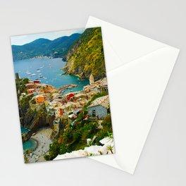 Vernazza Italy - Italian Riviera Stationery Cards