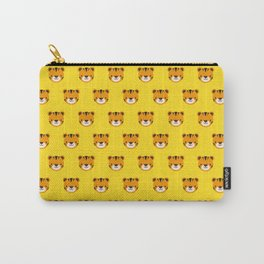Tilly the Tiger Pattern Carry-All Pouch