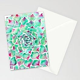 Echeveria Succulent Stationery Cards