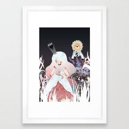 White Queen Framed Art Print