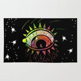 Right Eye of Space Kami Rug
