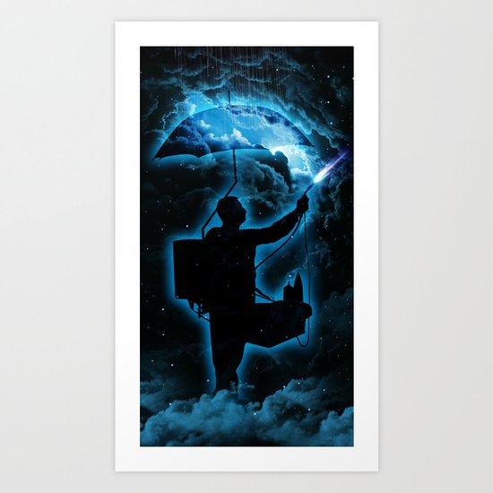 The Storm Breaker  Art Print