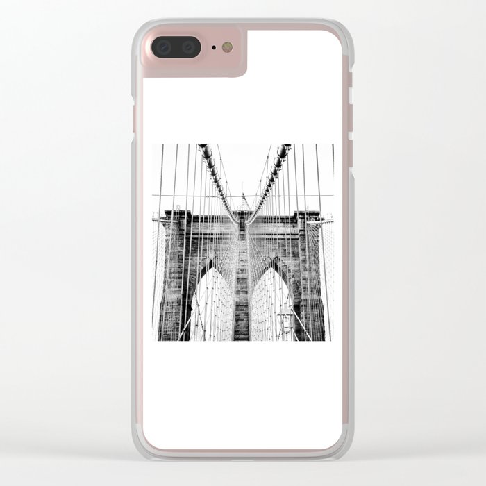 Brooklyn bridge Clear iPhone Case