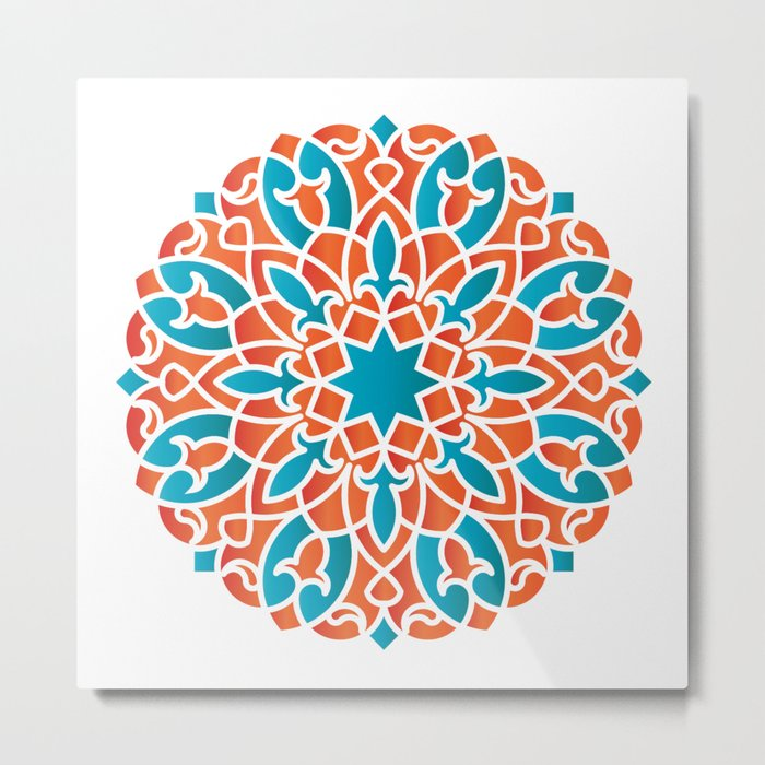 Modern Arabesque Metal Print