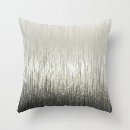 Titanium metal surface Throw Pillow