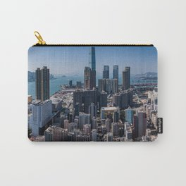 Aerial View of Kowloon, Hong Kong Carry-All Pouch