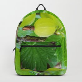 Gooseberry Branch with ripe berries  Backpack