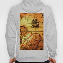 map sea Hoody