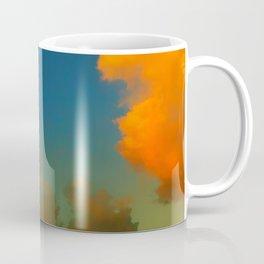 Orange and Blue Skies Coffee Mug