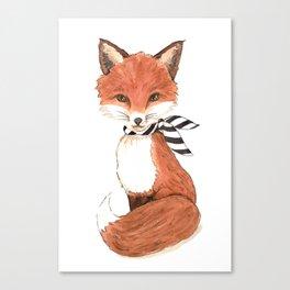 My Little Wild Fox Canvas Print