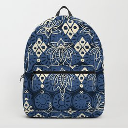 lotus diamond indigo Backpack
