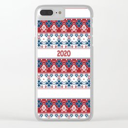 New year , 2020 , Christmas Clear iPhone Case