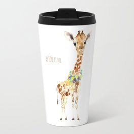 Be YOU tiful Giraffe Baby Travel Mug